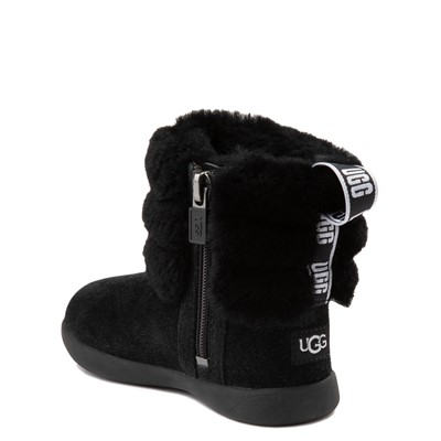 Alternate view of UGG® Classic Mini Fluff Boot - Toddler / Little Kid - Black