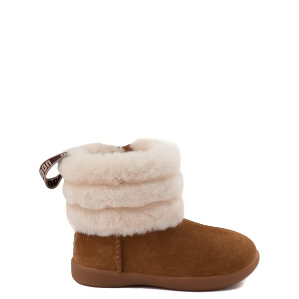 Default view of UGG® Classic Mini Fluff Boot - Toddler / Little Kid