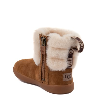 Alternate view of UGG® Classic Mini Fluff Boot - Toddler / Little Kid - Chestnut