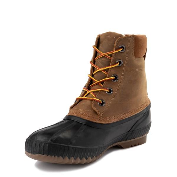 alternate view Mens Sorel Cheyanne™ II Boot - Chipmunk / BlackALT3