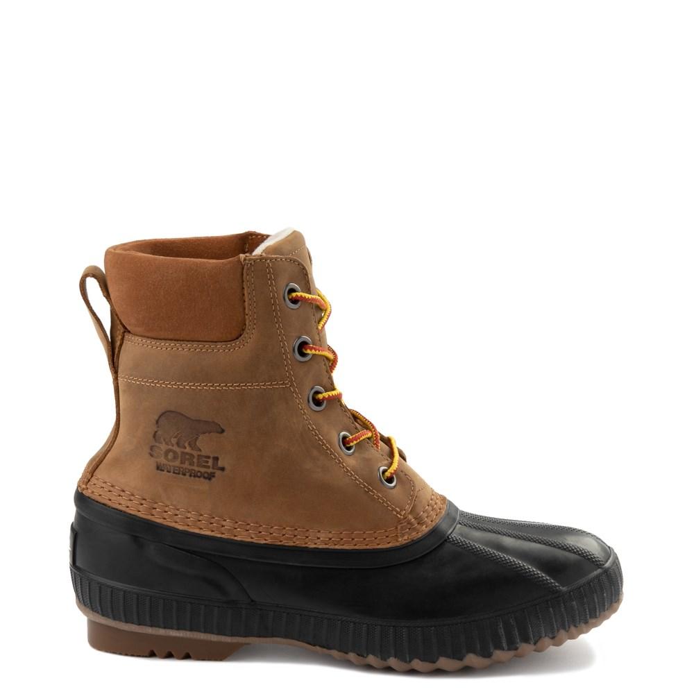 Mens Sorel Cheyanne™ II Boot - Chipmunk / Black