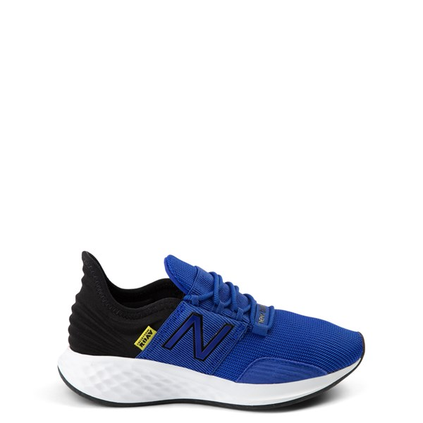 Main view of New Balance Fresh Foam Roav Athletic Shoe - Little Kid - Royal Blue / Black