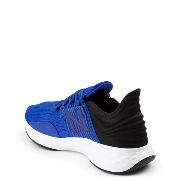 alternate view New Balance Fresh Foam Roav Athletic Shoe - Big Kid - Royal Blue / BlackALT2