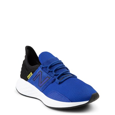 Alternate view of New Balance Fresh Foam Roav Athletic Shoe - Big Kid - Royal Blue / Black