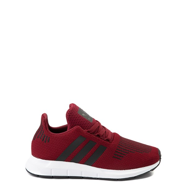 Main view of adidas Swift Run Athletic Shoe - Big Kid - Burgundy