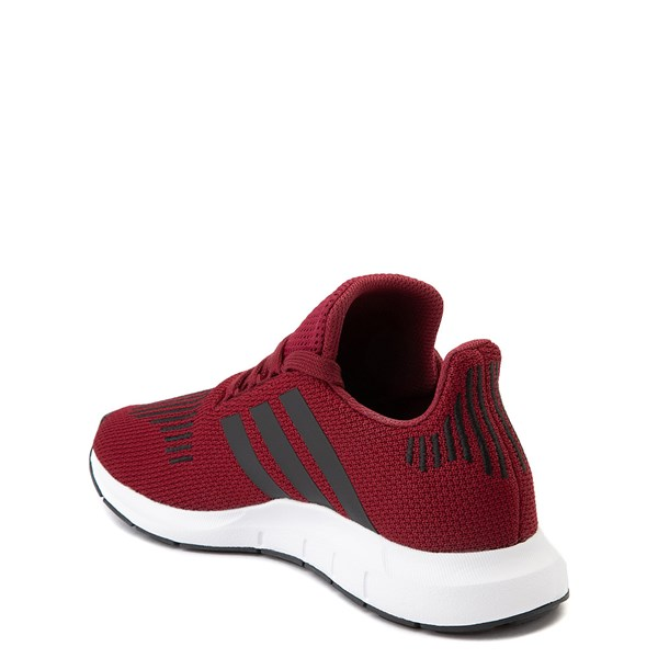 alternate view adidas Swift Run Athletic Shoe - Big Kid - BurgundyALT2