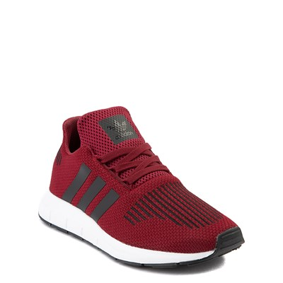 Alternate view of adidas Swift Run Athletic Shoe - Big Kid - Burgundy