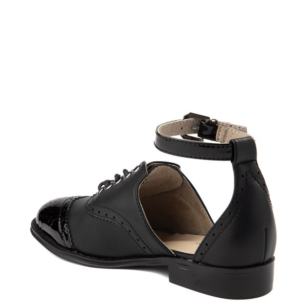 alternate view Womens Wanted Cherub Oxford Casual Shoe - BlackALT2
