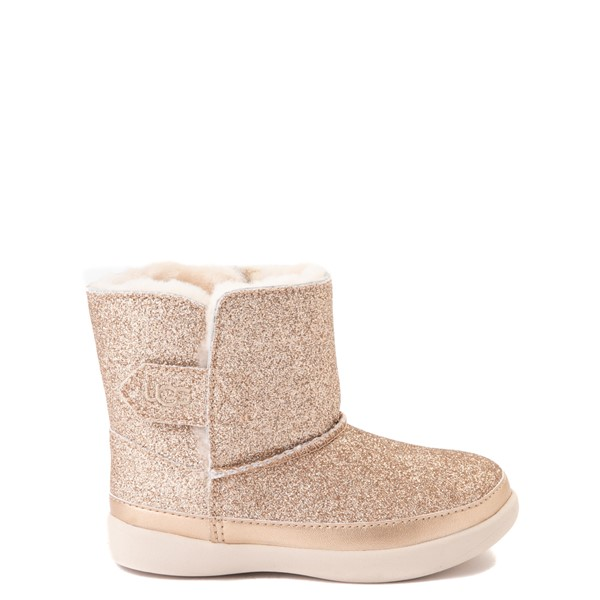 Main view of UGG® Keelan Glitter Boot - Toddler / Little Kid - Gold
