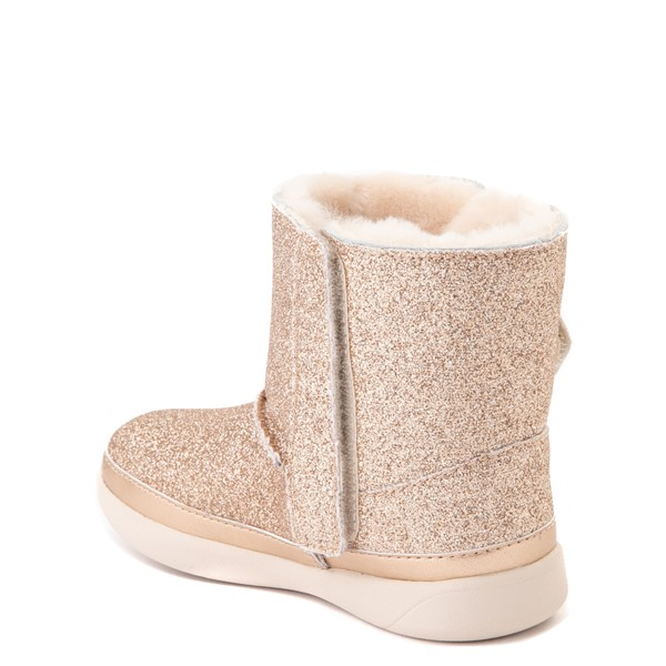 alternate view UGG® Keelan Glitter Boot - Toddler / Little Kid - GoldALT1