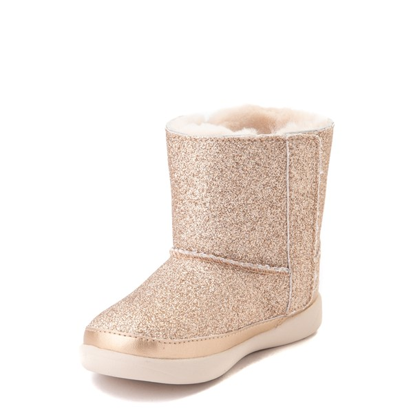 alternate view UGG® Keelan Glitter Boot - Toddler / Little Kid - GoldALT2