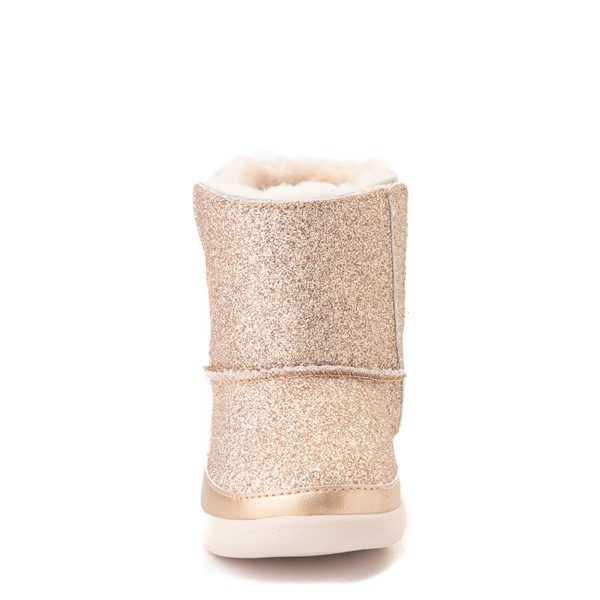 alternate view UGG® Keelan Glitter Boot - Toddler / Little Kid - GoldALT4