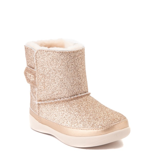 alternate view UGG® Keelan Glitter Boot - Toddler / Little Kid - GoldALT5