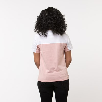 Alternate view of Womens adidas Vocal Tee - Pink/White