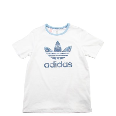 Main view of adidas Culture Clash Tee - Girls Little Kid