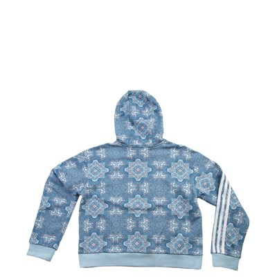 Alternate view of adidas Culture Clash Cropped Hoodie - Girls Little Kid