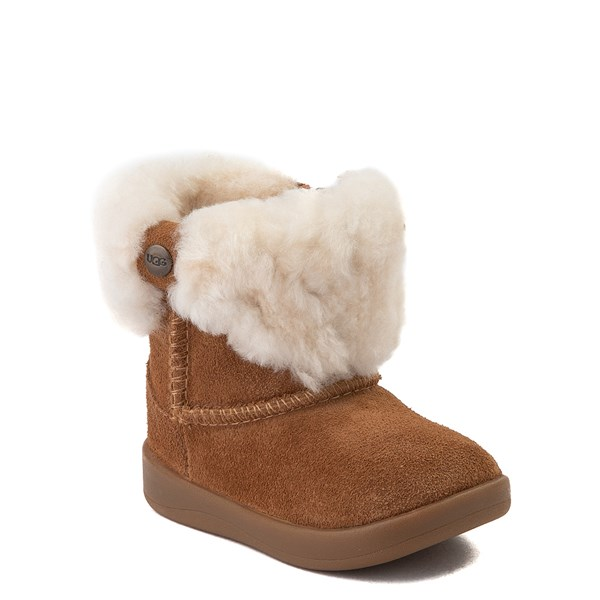 alternate view UGG® Ramona Boot - Baby / Toddler - ChestnutALT1