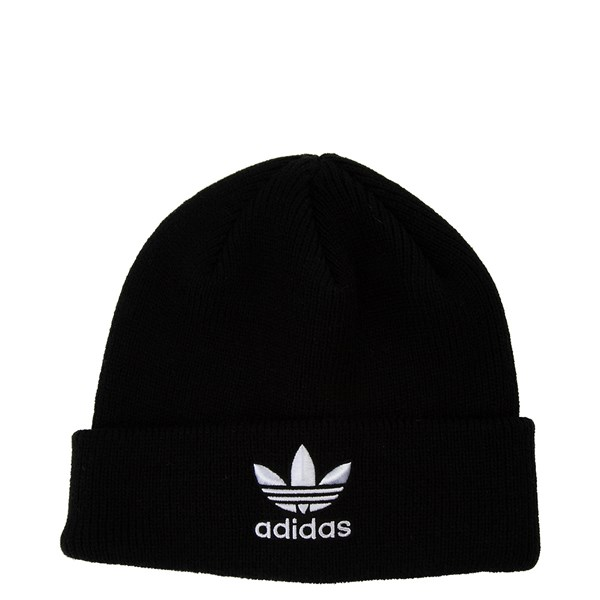 Main view of adidas Trefoil Beanie - Black