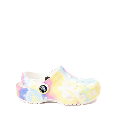 Main view of Crocs Classic Tie Dye Clog - Little Kid / Big Kid