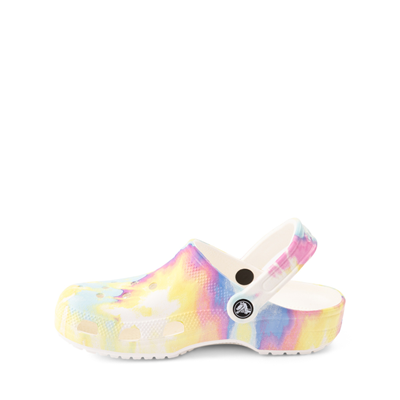 Alternate view of Crocs Classic Tie Dye Clog - Little Kid / Big Kid