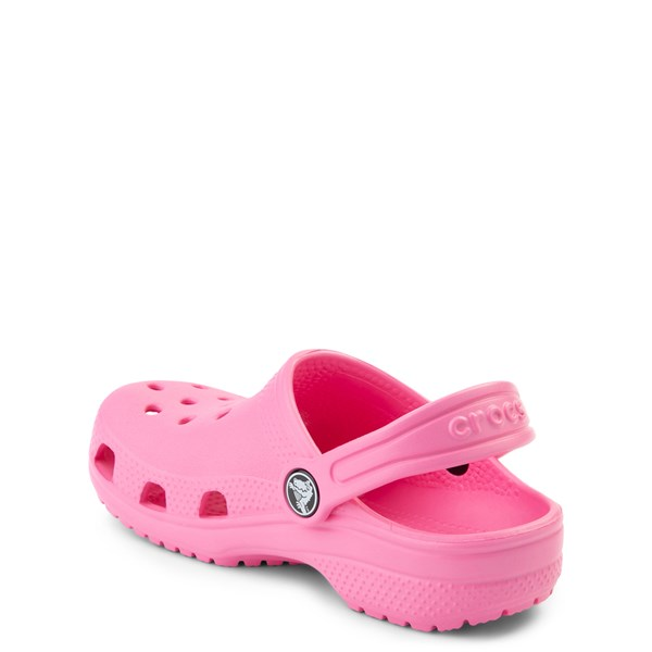 alternate view Crocs Classic Clog - Baby / Toddler / Little Kid - PinkALT2