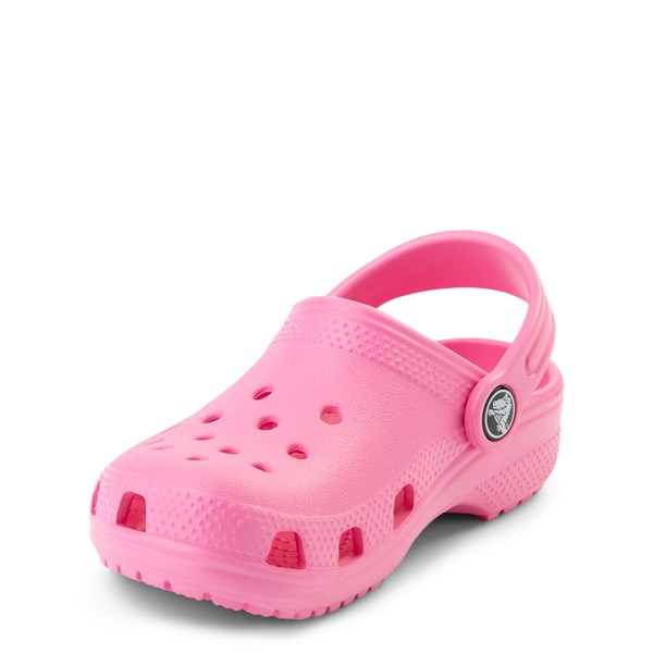 alternate view Crocs Classic Clog - Baby / Toddler / Little Kid - PinkALT3