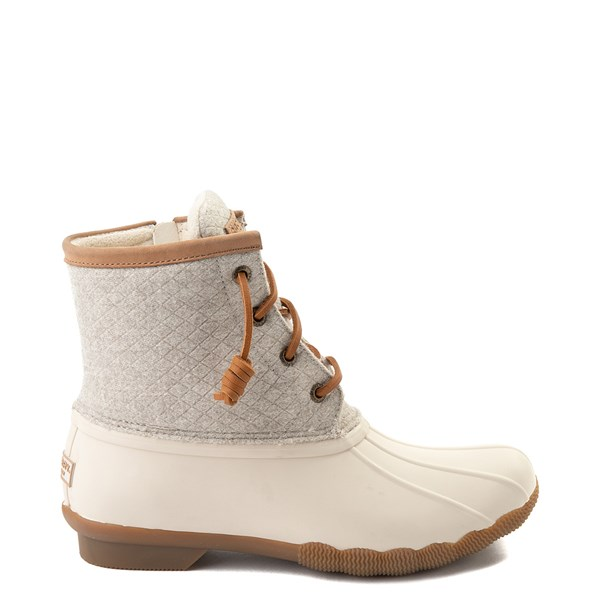 Womens Sperry Top-Sider Saltwater Wool Boot - Ivory