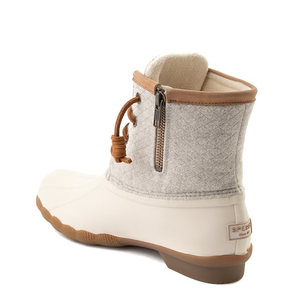 alternate view Womens Sperry Top-Sider Saltwater Wool Boot - IvoryALT2
