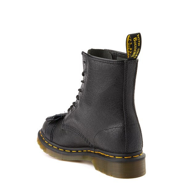 alternate view Womens Dr. Martens 1460 8-Eye Crackle BootALT2
