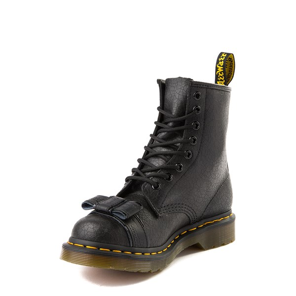alternate view Womens Dr. Martens 1460 8-Eye Crackle BootALT3