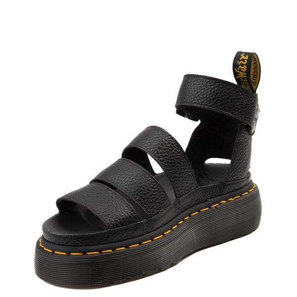 alternate view Womens Dr. Martens Clarissa Sandal - BlackALT3