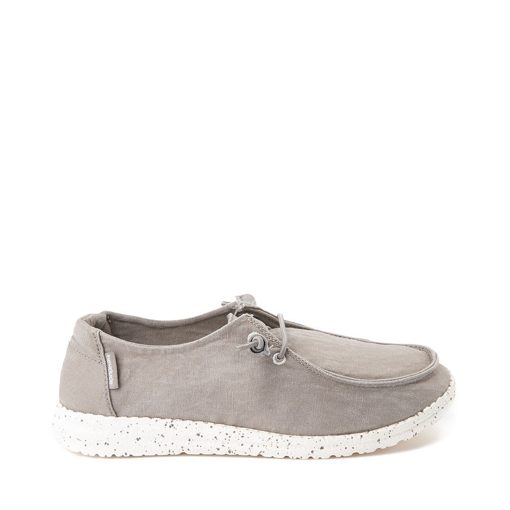 Womens Hey Dude Wendy Slip On Casual Shoe - Gray