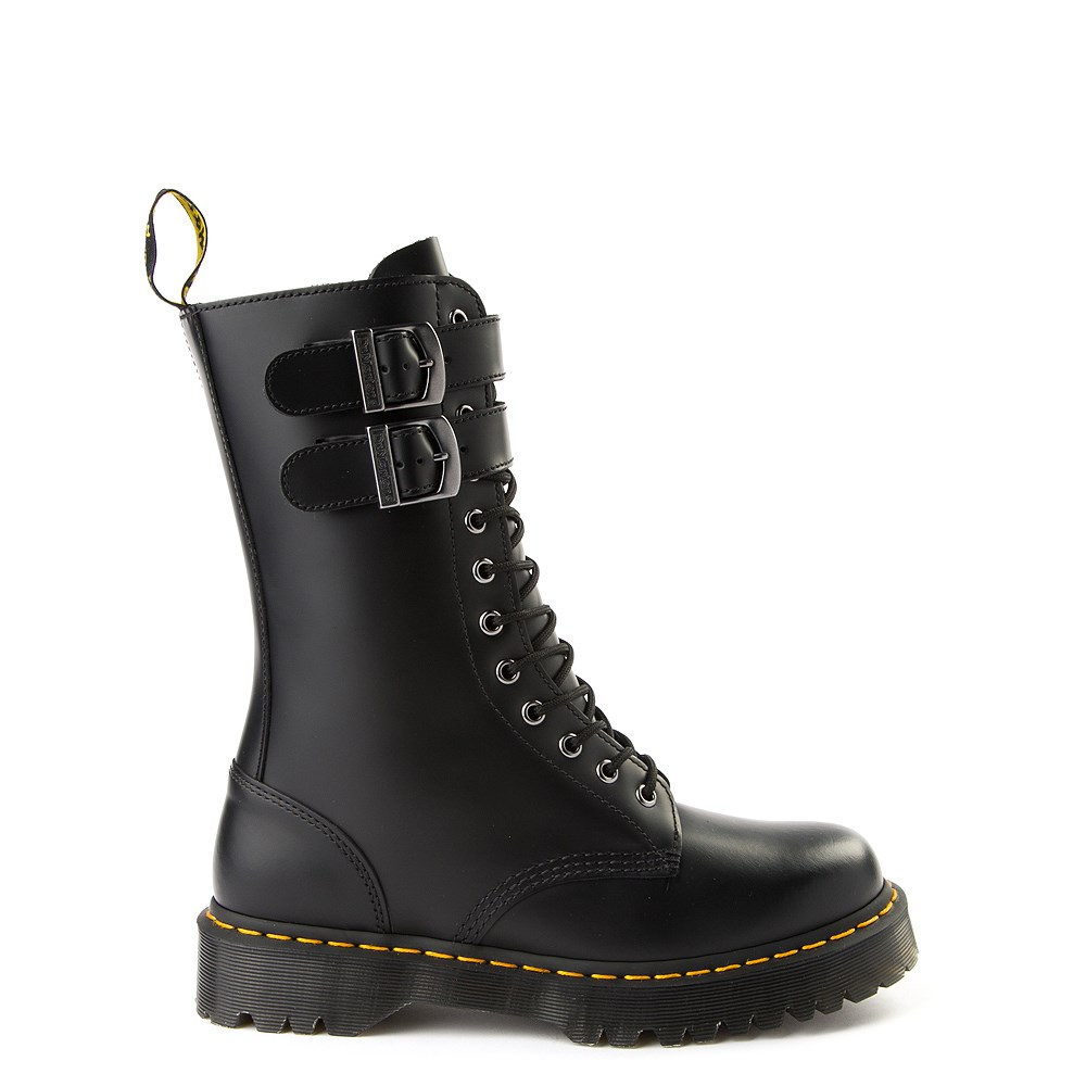 Dr. Martens Caspian Alt 12-Eye Boot - Black