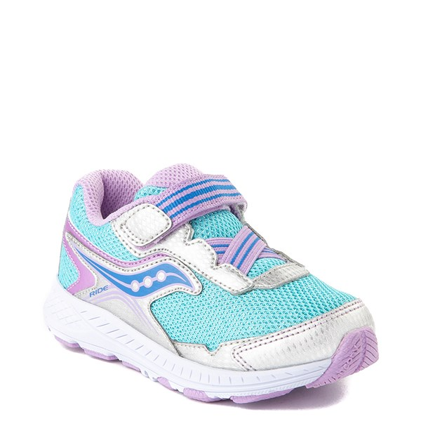 alternate view Saucony Ride 10 Athletic Shoe - Baby / Toddler / Little KidALT1