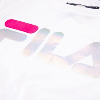 Alternate view of Fila Foil Logo Tee - Girls Little Kid