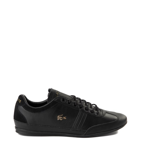Main view of Mens Lacoste Misano Athletic Shoe - Black
