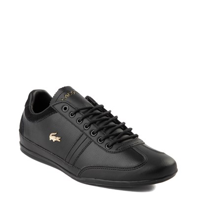 Alternate view of Mens Lacoste Misano Athletic Shoe - Black