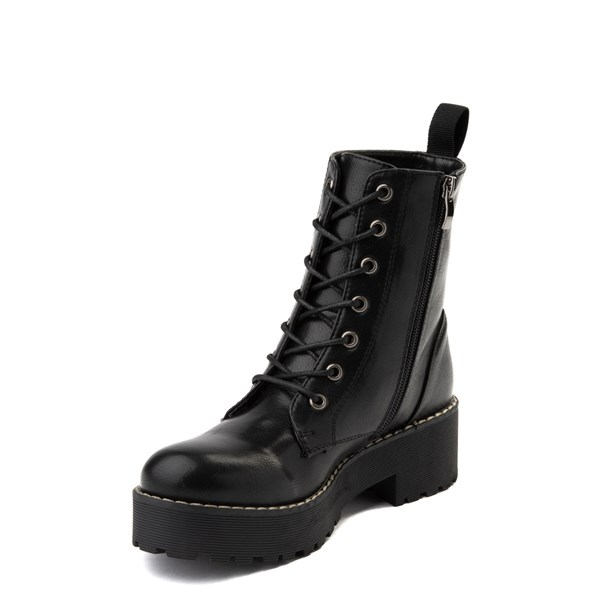 alternate view Womens Dirty Laundry Moore Platform Boot - BlackALT3