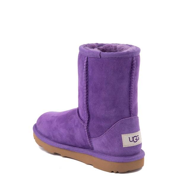 alternate view UGG® Classic II Boot - Little Kid / Big Kid - Violet BloomALT2