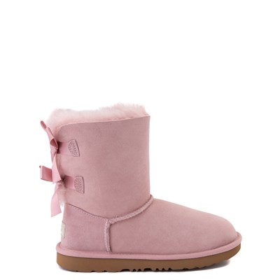 Main view of UGG® Bailey Bow II Boot - Little Kid / Big Kid - Pink Crystal