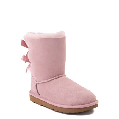 Alternate view of UGG® Bailey Bow II Boot - Little Kid / Big Kid - Pink Crystal