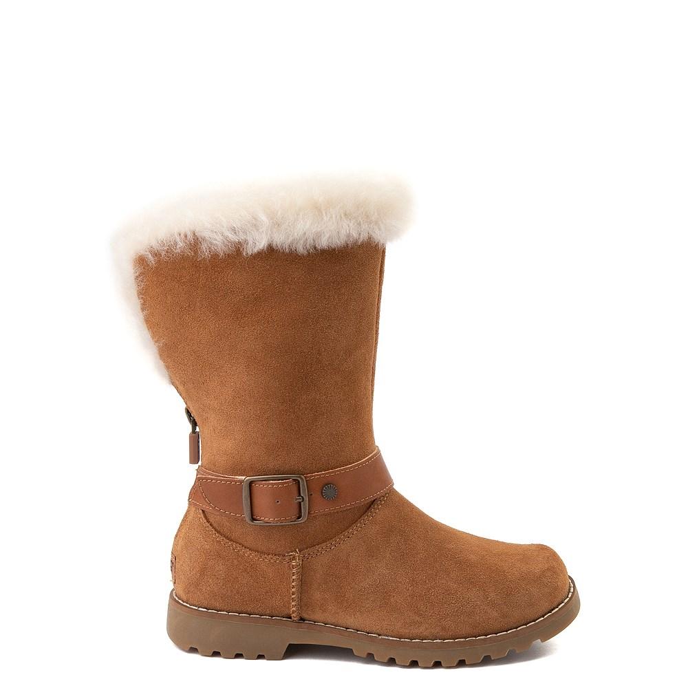 UGG® Nessa Boot - Little Kid / Big Kid - Chestnut