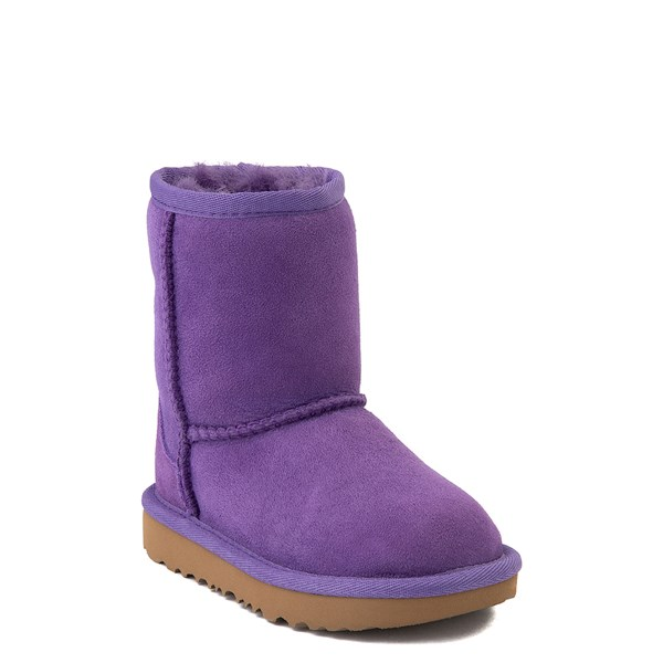 Alternate view of UGG® Classic Short II Boot - Toddler / Little Kid - Violet Bloom