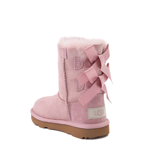 alternate view UGG® Bailey Bow II Boot - Toddler / Little Kid - Pink CrystalALT2