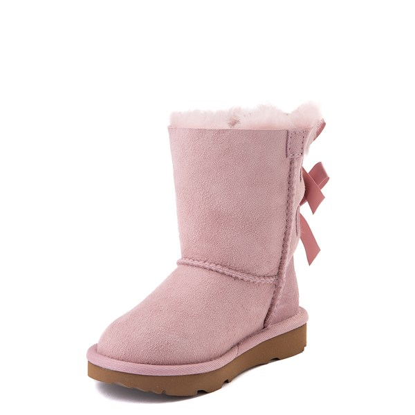 alternate view UGG® Bailey Bow II Boot - Toddler / Little Kid - Pink CrystalALT3