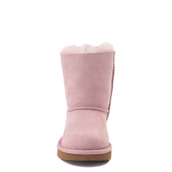 alternate view UGG® Bailey Bow II Boot - Toddler / Little Kid - Pink CrystalALT4