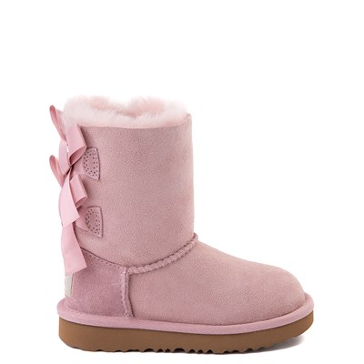 Main view of UGG® Bailey Bow II Boot - Toddler / Little Kid - Pink Crystal