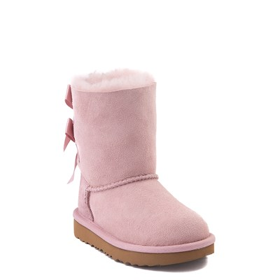 Alternate view of UGG® Bailey Bow II Boot - Toddler / Little Kid - Pink Crystal