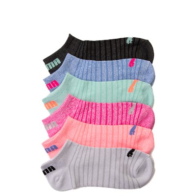 Main view of Womens Puma Super Soft Low Cut Socks 6 Pack