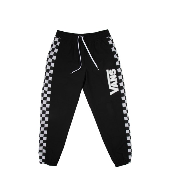 Mens Vans BMX Off The Wall Track Pants - Black / White